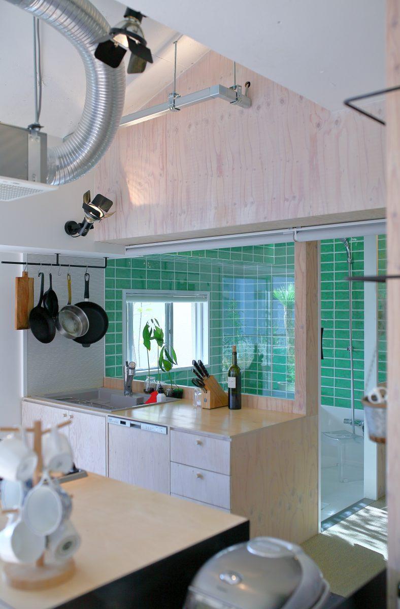 造作キッチン リノベーション