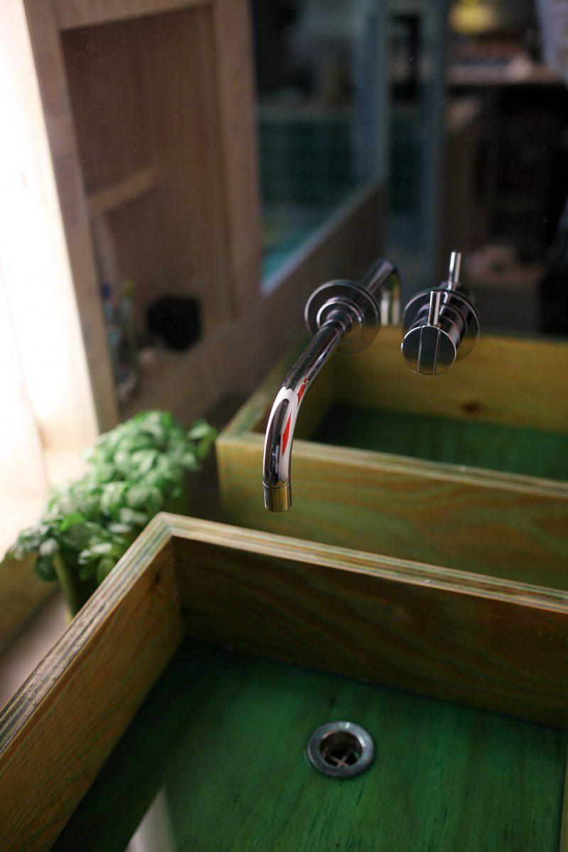 洗面リノベーション