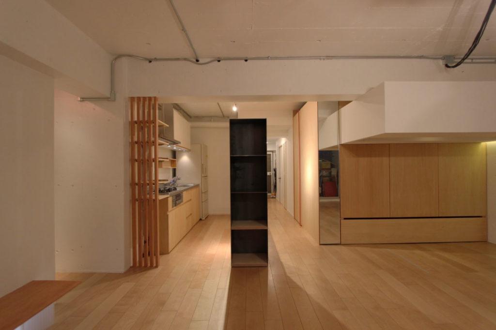 Smallhouse01 「狭小スペースと大収納」