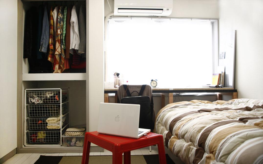 住人の部屋