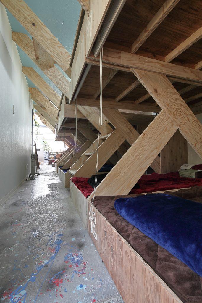 ゲストハウスの寝室デザイン