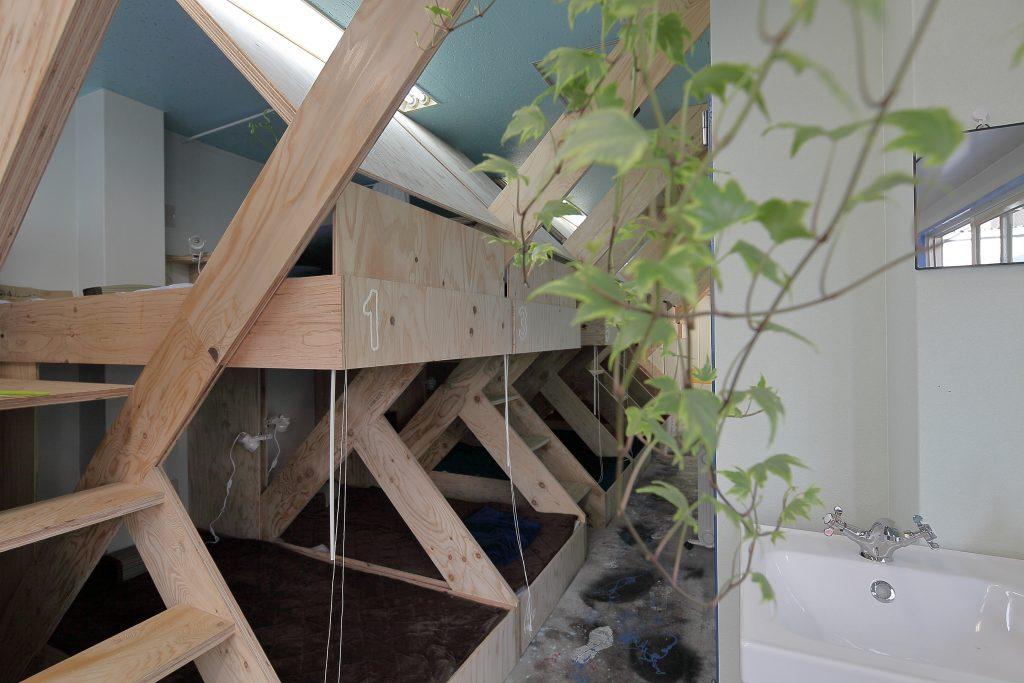 モジュール化された寝室空間