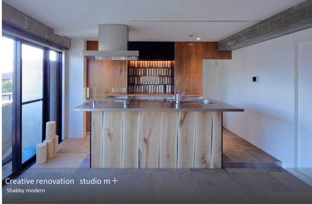 世界に一台しかない造作キッチン