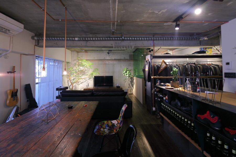 大阪インダストリアルリノベーション   「銅管と鉄」IndustrialHouse