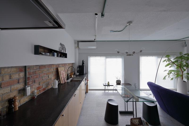 マンションのw4600のキッチン