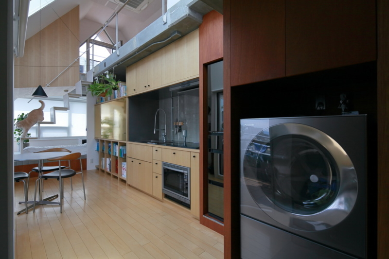 マンションリノベーションのキッチン画像