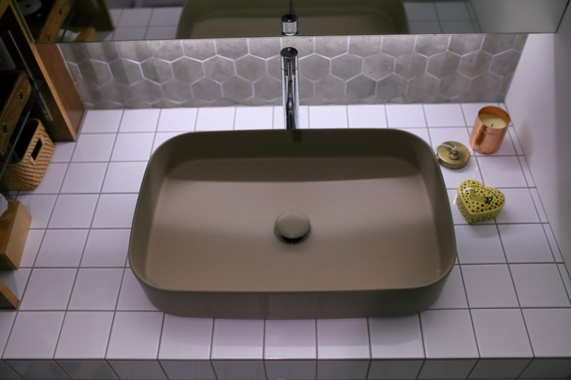 cieroを使った洗面